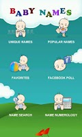 Screenshot of 100000+ Indian Baby Names