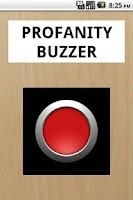 Screenshot of Profanity Buzzer