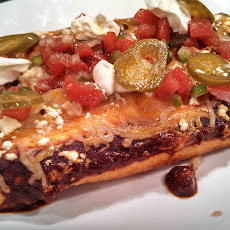 Meatless Monday ~ Cheese and Bean Enchiladas