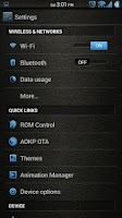 Screenshot of Leather Blue CM11/AOKP Theme