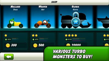 Screenshot of Monsters Climb Race: hill race