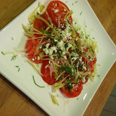 End Of Season Tomato Salad