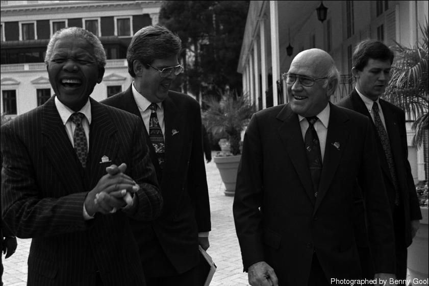"""""""Madiba ทำให้ผมรู้สึกพิเศษ ราวกับว่าการที่ผมเป็นประธานในกระบวนการพิจารณาเป็นเหตุผลที่ทำให้ CA ทำงานเสร็จสิ้น"""""""