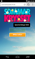 Screenshot of Sommarkrysset