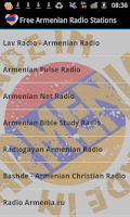 Screenshot of Armenian Radio Music & News
