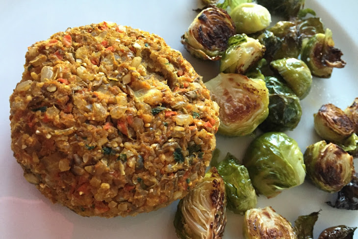 Moroccan Spiced Lentil Butternut Squash Burgers [Vegan, Gluten-Free ...