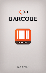 Ecount Barcode App - screenshot