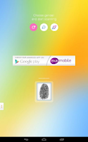 Screenshot of Fingerprint Mood Scanner
