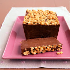 Frozen Peanut Butter, Chocolate, and Banana Loaf