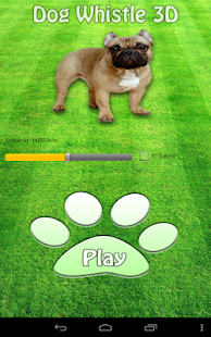 Dog Whistle 3D Sound - screenshot