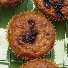 Oatmeal-Raisin Muffins