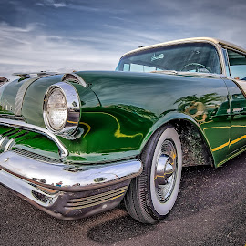 Green Pontiac by Ron Meyers - Transportation Automobiles