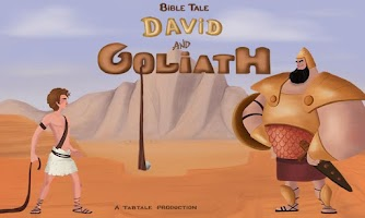 Screenshot of David & Goliath Bible Story