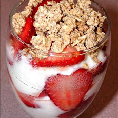 Strawberry Brunch Parfait