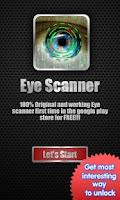 Screenshot of Eye Scanner Lock