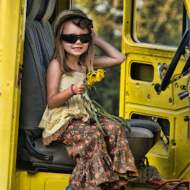 Silly girl! by Becky Kempf - Babies & Children Children Candids (  )