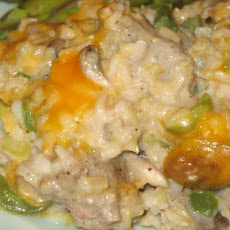 Sausage-Brown Rice Casserole
