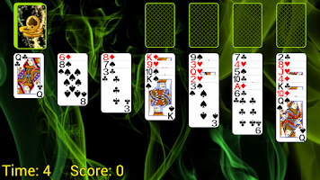 Screenshot of Gladiator Solitaire