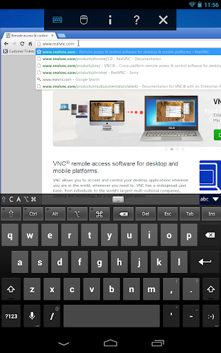 Screenshot #5 of VNC Viewer / Android