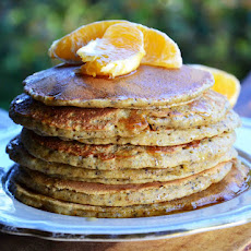 Orange-Poppy Seed Pancakes