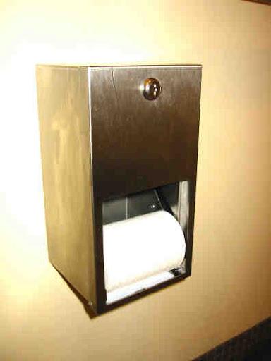 Двухроликовый держатель рулонов туалетной бумаги