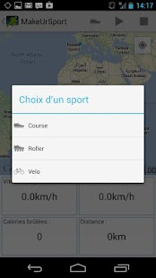 MakeUrSport - screenshot
