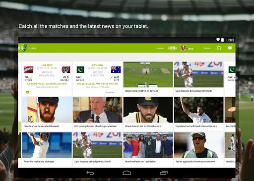 Cricket Australia Live - screenshot