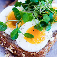 Doorstep Sandwich With Egg And Watercress