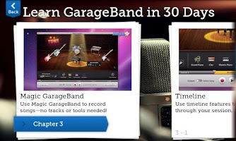 Screenshot of Learn GarageBand FREE