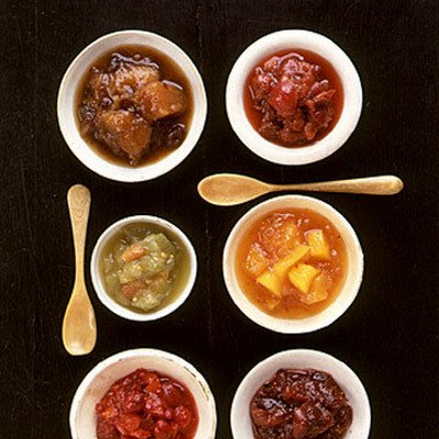 Dried Cherry, Pearl Onion, and Pear Chutney