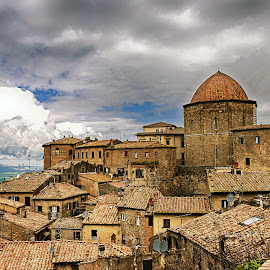 Umbria, Italy by Giuseppe Ciaramaglia - Buildings & Architecture Homes ( umbria, roofs, italy )