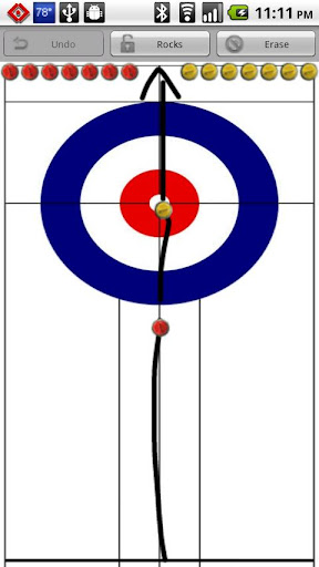 Curling Strategy Board