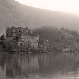 Castle in the river by Alec Halstead - Black & White Buildings & Architecture (  )
