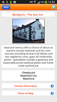 Screenshot of Waterford App
