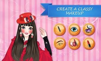 Screenshot of Ariana Red Dress Makeover