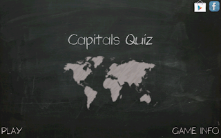 Screenshot of Capitals Quiz