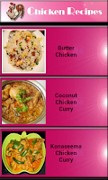 Screenshot of Chicken Recipe - Food Recipe
