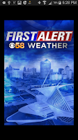 Screenshot of CBS58 Weather