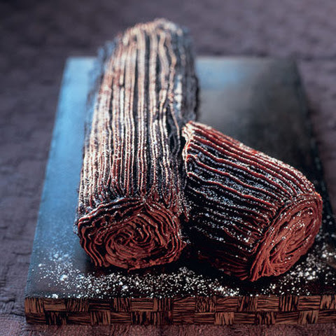 Mary Berry's Christmas chocolate log
