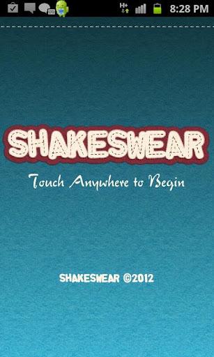 Shakespeare swear