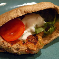 Chicken Pita Burger