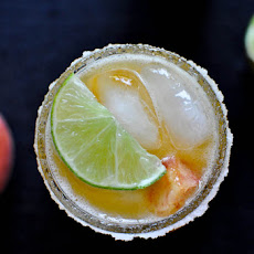 Juicy Peach Margaritas