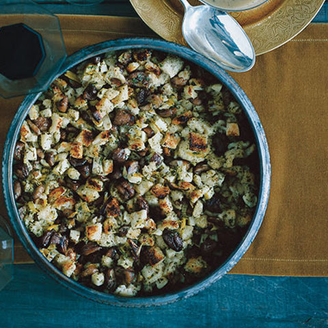 Chestnut, Leek, and Apple Stuffing