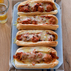 Chili Meatball Subs