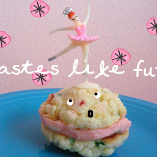 Funfetti Cake Mix Cookie Sandwiches
