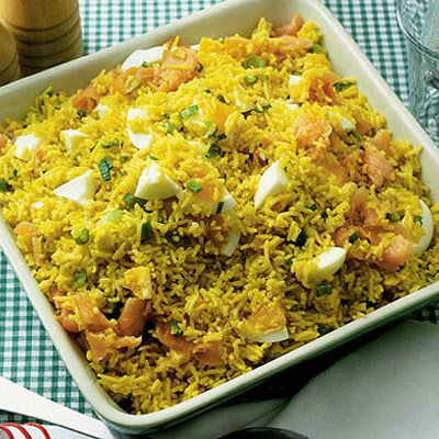 Quick Curried Kedgeree
