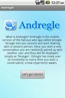 Screenshot of Andregle(Omegle)