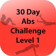 30 Day Abs Challenge Level 1