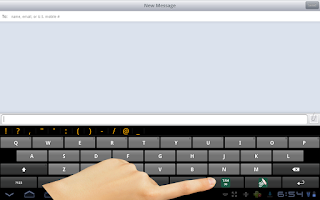 Screenshot of Ezhuthani  - Tamil Keyboard