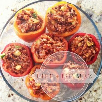 Quinoa and Vegetable Stuffed Peppers